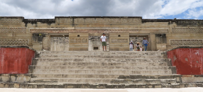 Mitla eingang tempel - Archäologische Stätten rund um Oaxaca City - Meine Top 5