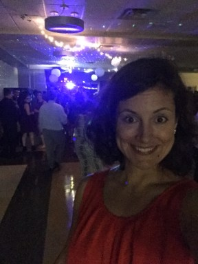 Chaperoning a high school Homecoming dance Saturday night.