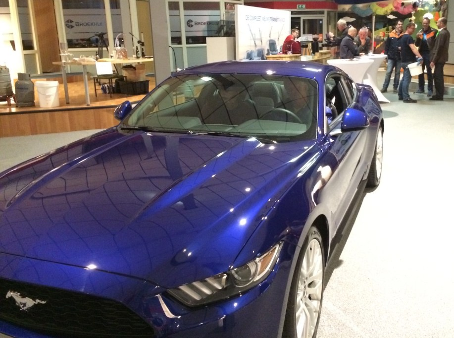 Presentatie Ford Mustang Fastback