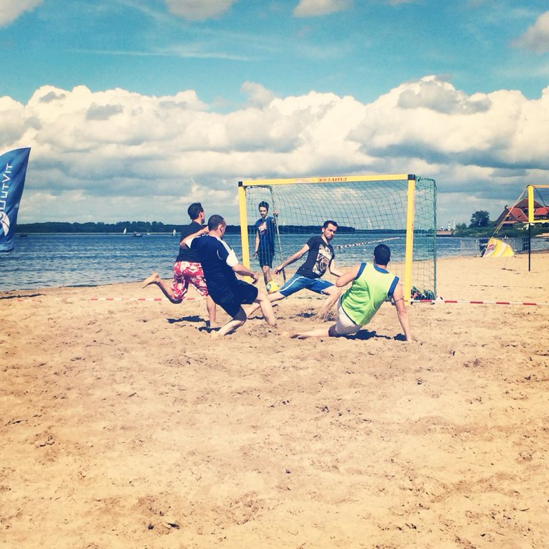 Beachsoccer Party