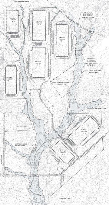 Lower Woolsey Henry 780 site plan