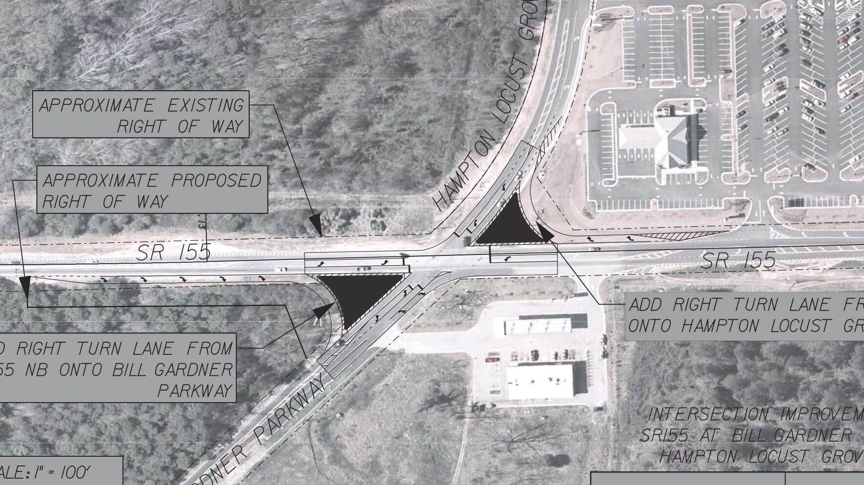 SR 155 at Bill Gardner Parkway safety improvements