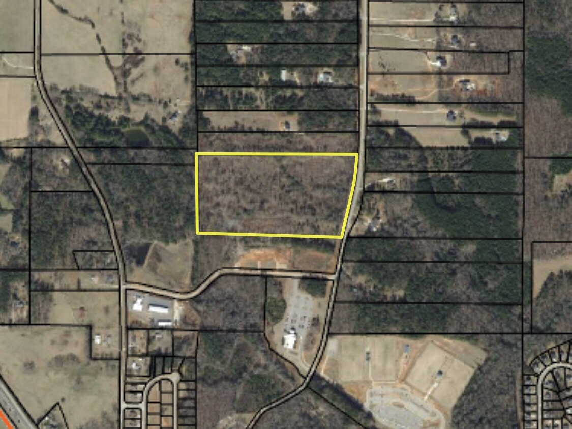 Subject property for David Standard rezoning on S Bethany Road