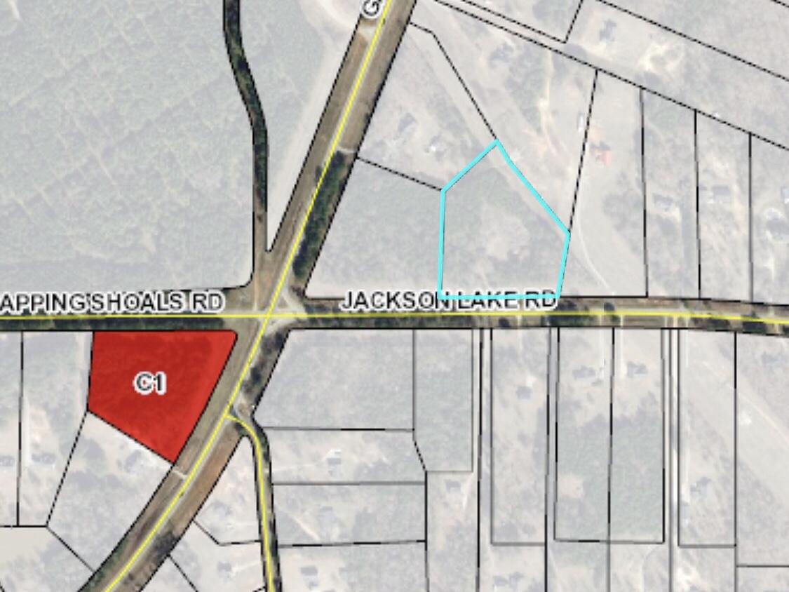 Map of 137 Jackson Lake Road