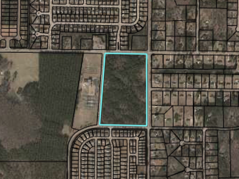 Location of Stapleton Park subdivision on Lake Dow Road