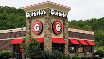 Stock photo of Guthrie's Chicken fast food restaurant