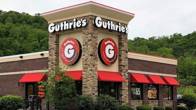 Stock photo of Guthrie's Chicken fast food restaurant