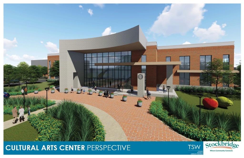 Proposed Stockbridge cultural arts center