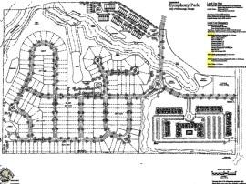 Concept site plan for Symphony Park (Blue River Development photo)