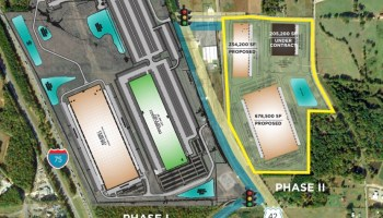 Gardner Logistics Park site plan May 2020 (Scannell Properties photo)