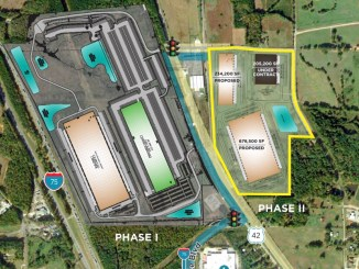Gardner Logistics Park site plan May 2020 (Scannell Properties photo)