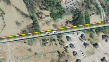 Fairview Road widening concept 2011 (Henry County photo)