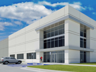 Front elevation plans for Locust Grove Logistics Center (Reliant Real Estate Partners LLC)