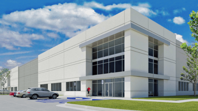 Front elevation plans for Locust Grove Logistics Center (Reliant Real Estate Partners LLC)