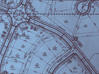 Site plan excerpt for Southern Hills subdivision (Falcon Design photo)