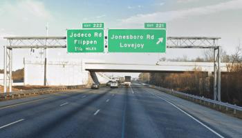 Google StreetView of I-75 North at exit 221 / Jonesboro Road (Google photo)