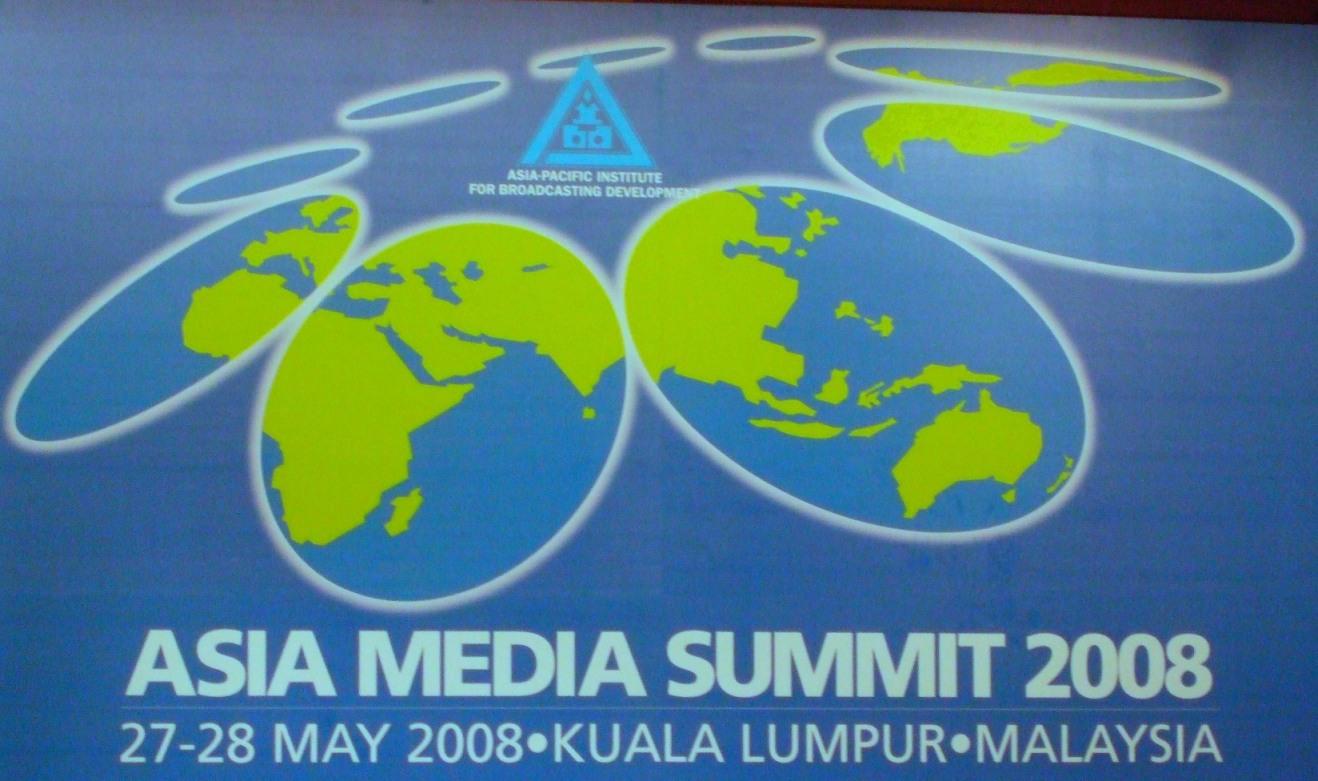 Asia Media Summit 2008