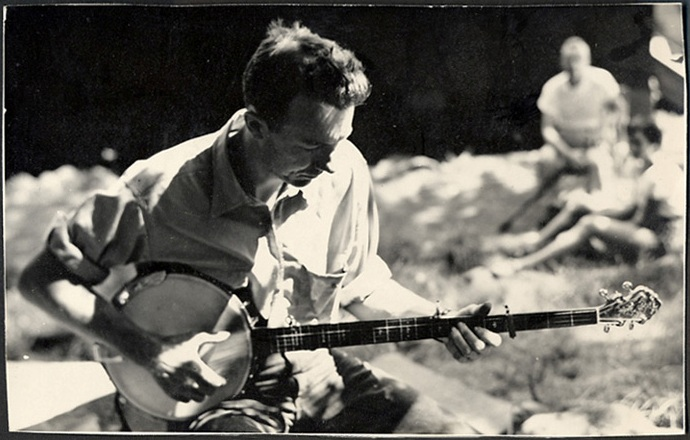 Pete Seeger: Still singing protest at 90...