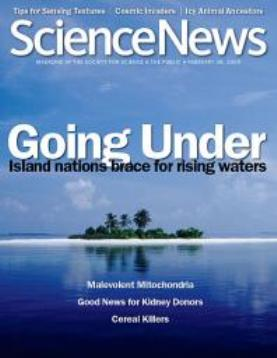 Science News cover - 28 Feb 2009