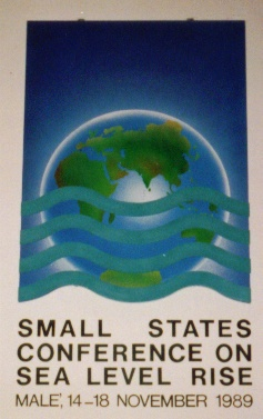 Small states conference on sea level rise logo