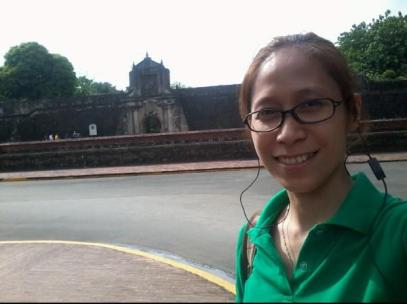 The front wall of Fort Santiago where Elpidio Quirino, the 6th Philippine President, Jose Rizal, the Philippine National Hero, and other Filipino heroes were imprisoned during the Spanish era.