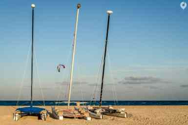 Fuerteventura - Strand am Flag Beach Windsurf Centre Corralejo