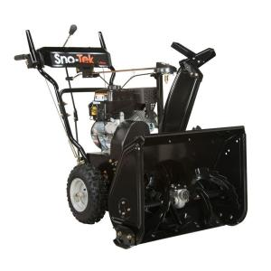 2014 Sno-Tek 920402 (Ariens Economy) 24 in 208 cc 2-stage Snow Blower Review 1