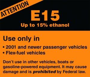 Don't use E15