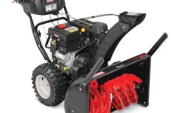 2014 Craftsman 30 in 357 cc Model 88396 Electric Chute Two-Stage Snow Blower Review 34