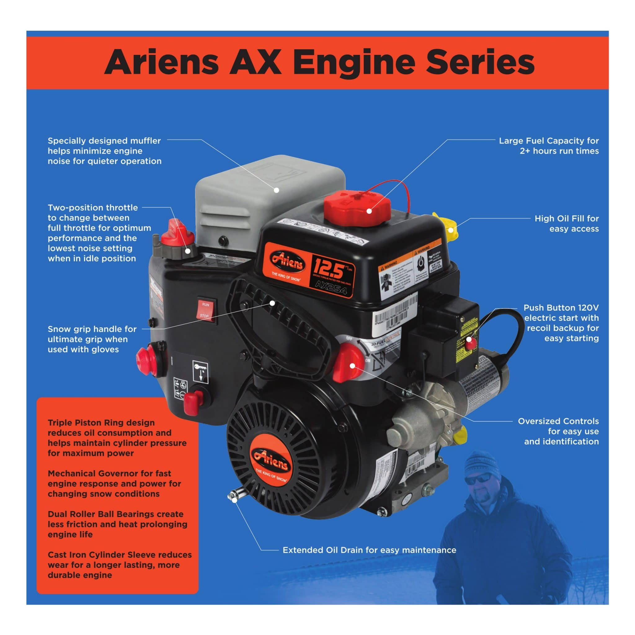 Snow Blower 24 >> Who Makes Ariens AX Engine? - MovingSnow.com