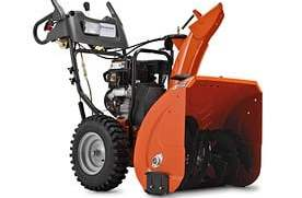 "Husqvarna 924HVX (at Lowes) Review (24"") 208cc Two-Stage Snow Blower 18"