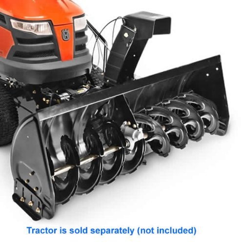 How To Attach Tractor Mounted Snow Thrower Craftsman Husqvarna