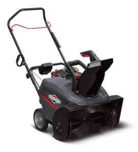 Briggs & Stratton Single Stage - 22 inch - 163cc - Electric Start - Model 1696509