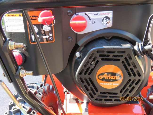 Ariens Deluxe 28 SHO AX Engine
