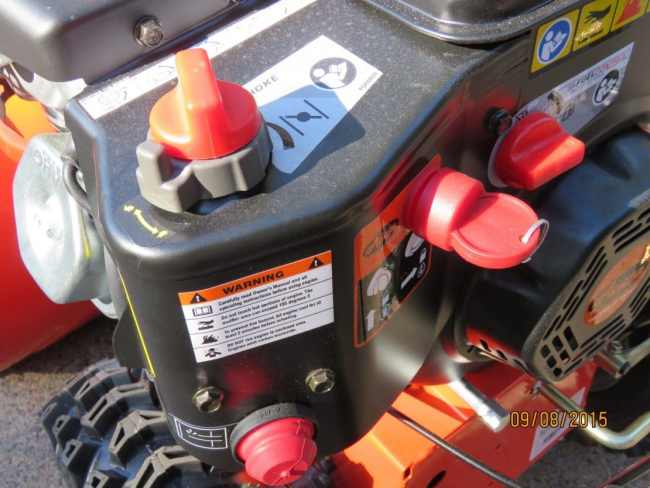 Ariens Deluxe 28 SHO Throttle