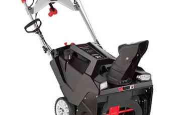 15 Reasons Why You Need Also Need A Single Stage Snow Thrower. 1