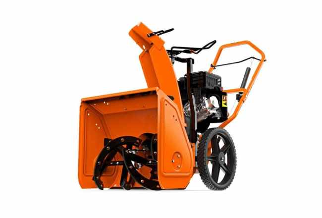 Ariens crossover side
