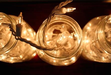 déco maison bocal lumière 9