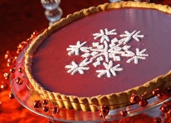 La tarte de Noël au chocolat