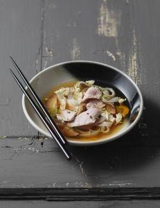La fondue de veau à la japonaise