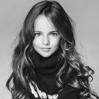 Kristina Pimenova, mannequin à 8 ans