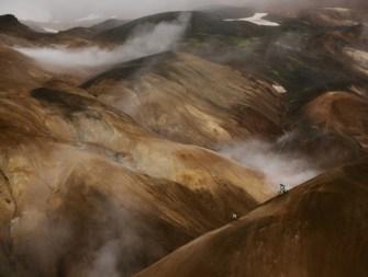 Trois freeriders sur les pistes du désert Islandais !
