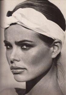 Accessoire de cheveux tendance, le foulard 6