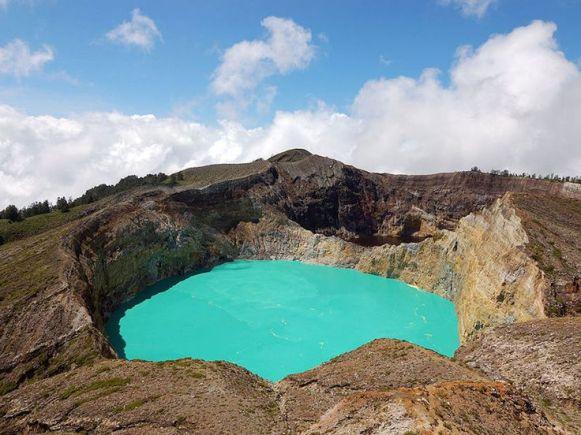 Lacs de cratère Kelimutu, Indonésie 1