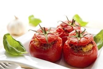 Des tomates farcies pour la Saint valentin !