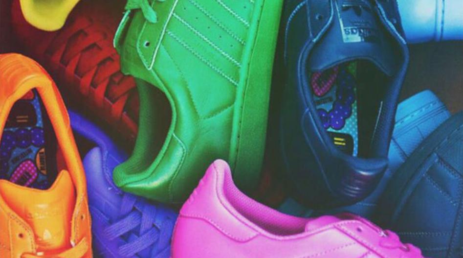 dc868a6bee48b4 Les Supercolor Superstar signées Adidas et Pharrell Williams