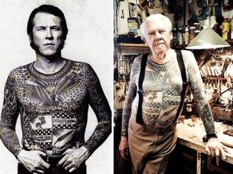 Les tatouages vieillissent très bien, la preuve