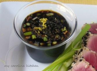 La bonne cuisine d'Evy : La sauce Ponzu