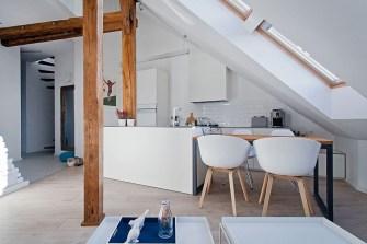 Comment transformer d'anciens greniers en un magnifique loft ?