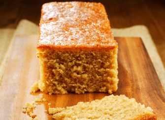 Un cake au pain d'épices